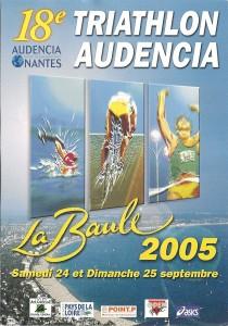 Affiche Triathlon2005