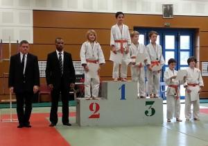Clément podium